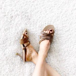 Predictions Brown Sandal Heels